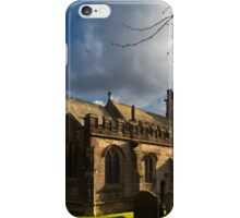 St Michael's Church in Hathersage iPhone Case/Skin
