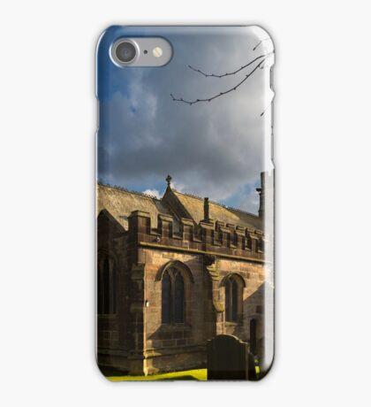 St Michael's Church in Hathersage iPhone Case/Skin