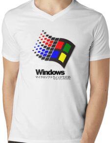 WINDOWS 95 Mens V-Neck T-Shirt