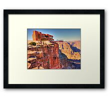 Grand Canyon Skywalk Framed Print