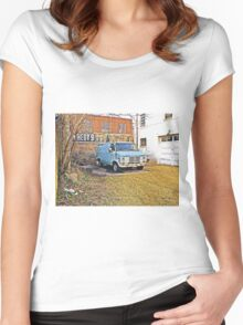 Groovy Ride  Women's Fitted Scoop T-Shirt