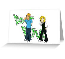 Don't Blink - Emmy and Reed Greeting Card