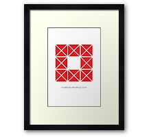 Design 5 Framed Print