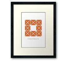 Design 6 Framed Print