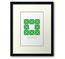 Design 8 Framed Print