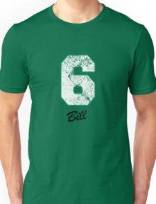 Celtics Numbers - Bill no. 6 Unisex T-Shirt