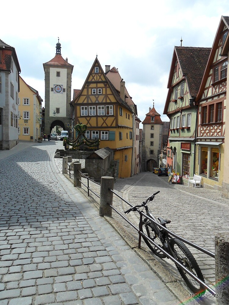 Rothenburg oder Trauber, Franconia Germany by mousesuzy