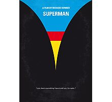 No086 My Superman minimal movie poster Photographic Print