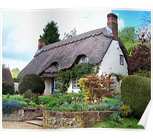 A Perfect Little Cottage Poster