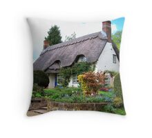 A Perfect Little Cottage Throw Pillow