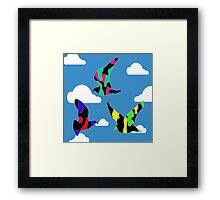 Small Birds. Small Sky.  Framed Print
