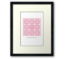 Design 95 Framed Print