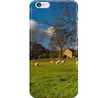 Hathersage near the church2 iPhone Case/Skin