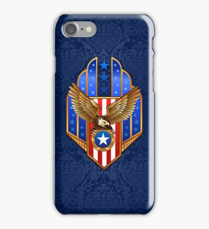 Patriotic Eagle Shield iPod / iPhone 5 Case / iPhone 4 Case  iPhone Case/Skin