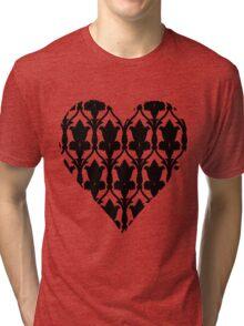 Sherlock Wallpaper Love Tri-blend T-Shirt