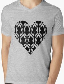 Sherlock Wallpaper Love Mens V-Neck T-Shirt