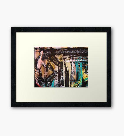 caribbean shack Framed Print