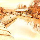 Bulbourne Dry Dock  by Ian Jeffrey