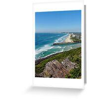 Gold Coast Coastline Greeting Card