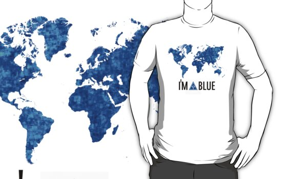 I'm blue secret world tshirt by PickleWarrior