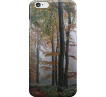 Autumn Woodlands iPhone Case/Skin