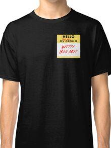 My Bond Girl Name is Witty Bon Mot Classic T-Shirt