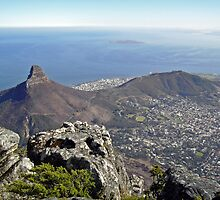 View from Table Mountain by DarthIndy