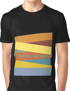 Proud Photographer Graphic T-Shirt