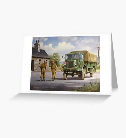 Bedford QL Greeting Card