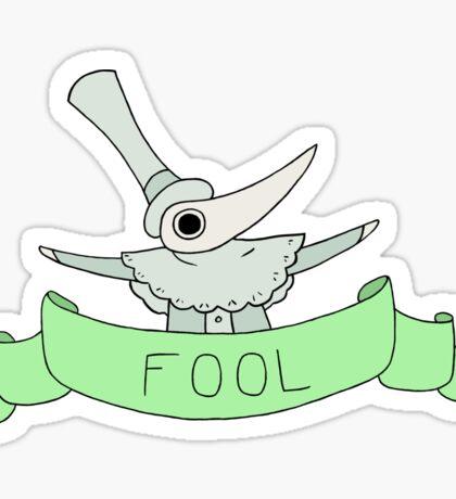 Excalibur- You Fool Sticker