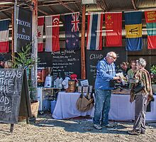 A Day at the Polo, Millamolong Station, NSW  by Jennifer Bailey