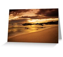 """""""Where The River Meets The Sea"""" Greeting Card"""