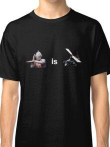 Ultraman is Airwolf Classic T-Shirt