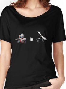 Ultraman is Airwolf Women's Relaxed Fit T-Shirt