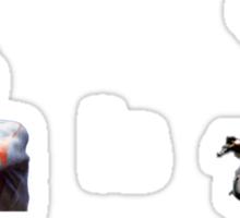 Ultraman is Airwolf Sticker