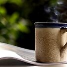 morning coffee by lensbaby