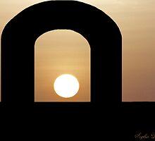 Sunrise over the Temple_Hidden Secrets by SophiaDeLuna