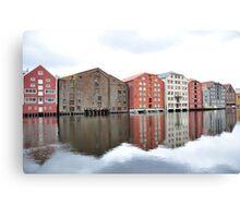 Trondheim - Norway Canvas Print