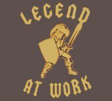 Zelda Legend At Work Gold and Black Design Kids Clothes