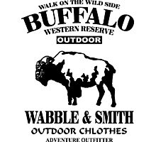 Western Bufalo Photographic Print