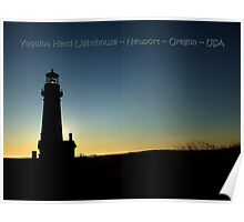 PostCard Extravaganza: Yaquina Head Lighthouse Poster