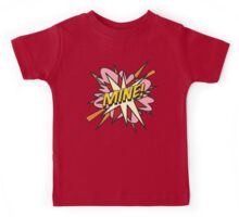 Comic Book MINE! Kids Tee
