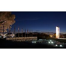 National Police Memorial - Canberra Photographic Print