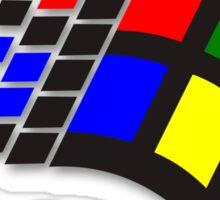 WINDOWS 95 WHITE Sticker