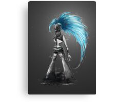 Rainbow Punk: Cybernetic Blue Canvas Print