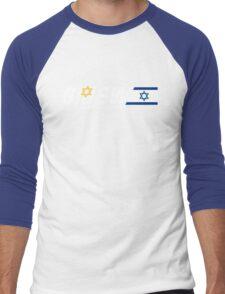 GI Jew - The Real American Hebrew Men's Baseball ¾ T-Shirt
