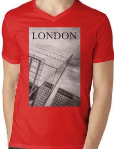 The Skyscraper Mens V-Neck T-Shirt