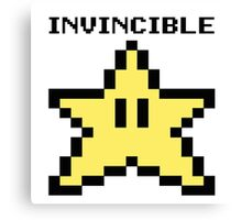 Invincible!! Canvas Print