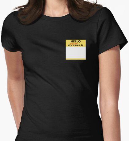 Bond Girl Badge Womens Fitted T-Shirt