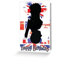 Sherlock and John Card - Birthday Greeting Card